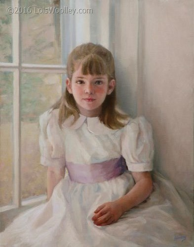 Young Girl by Window (age 7)